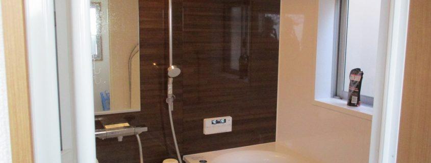 古くなった浴室をユニットバスへ改修工事