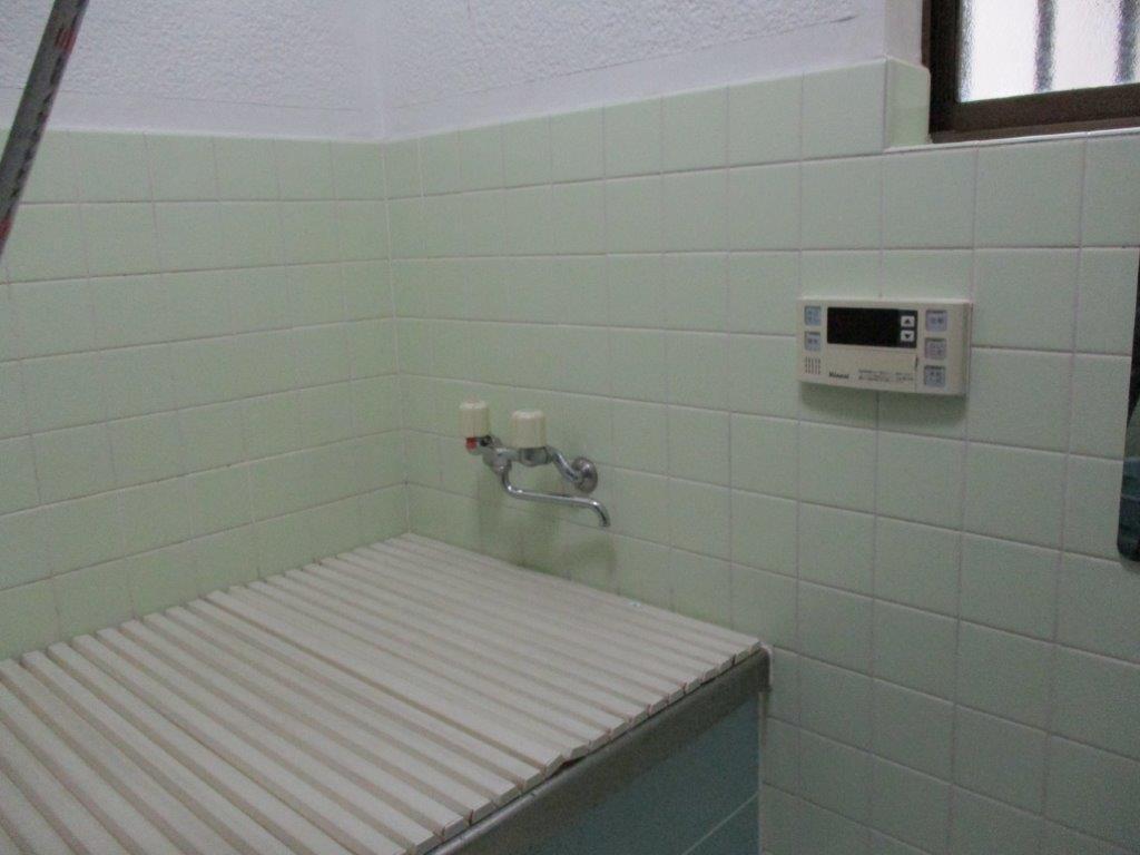 浴室の手摺取り付け前