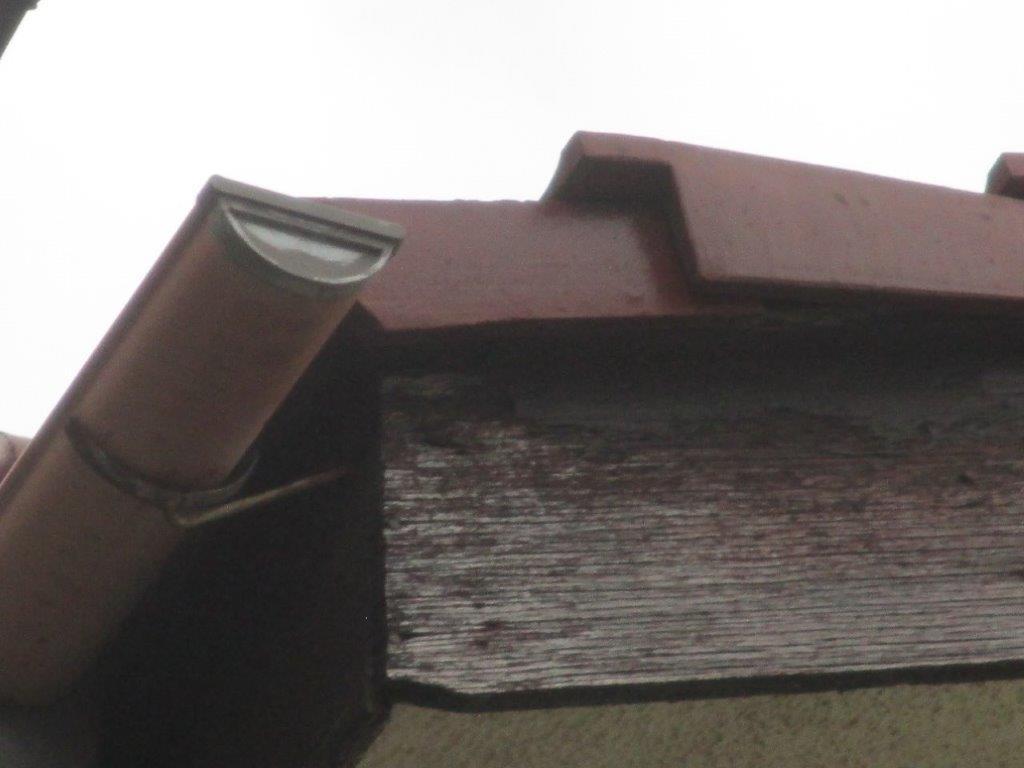 屋根の破損状態