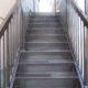 外階段の補修工事後