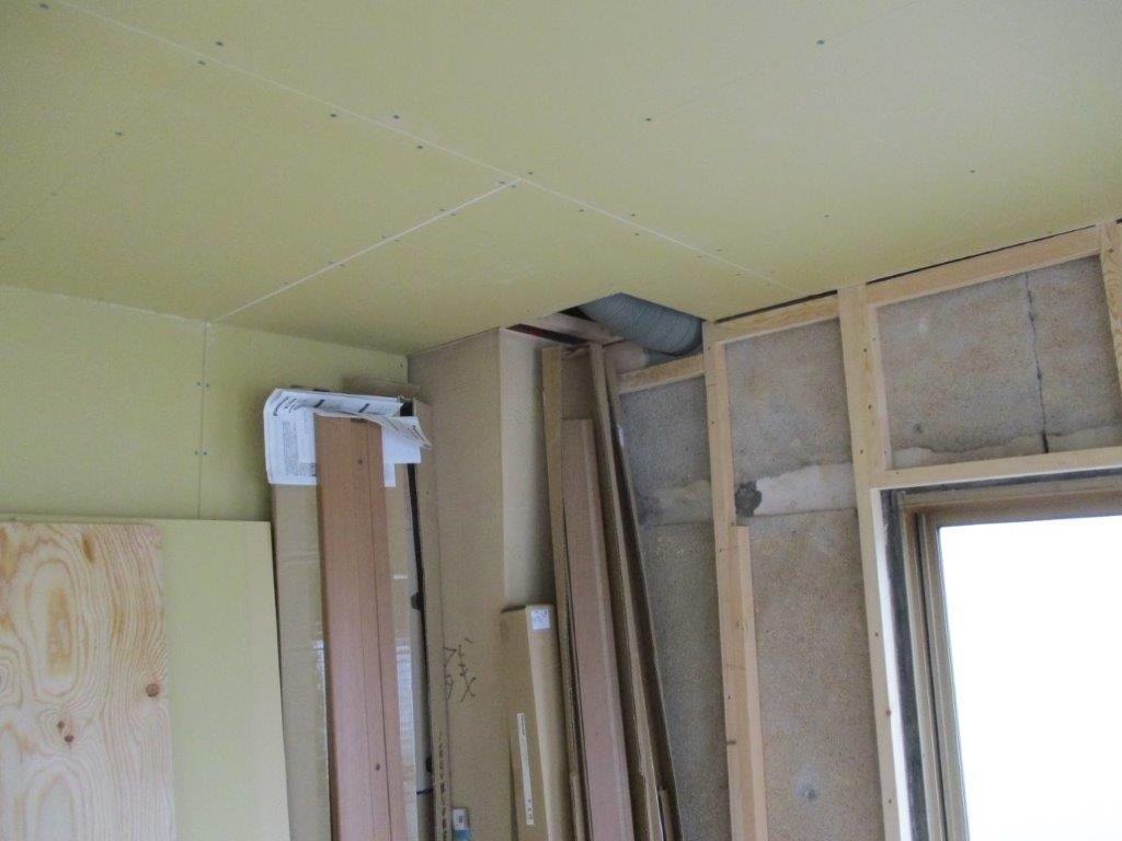 施工前の室内