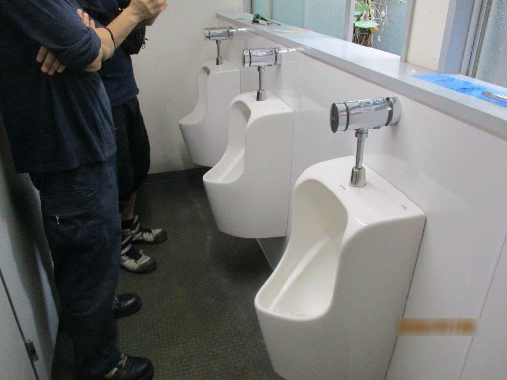トイレの詰まり解消工事