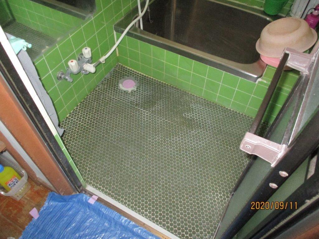 浴室のリフォーム前