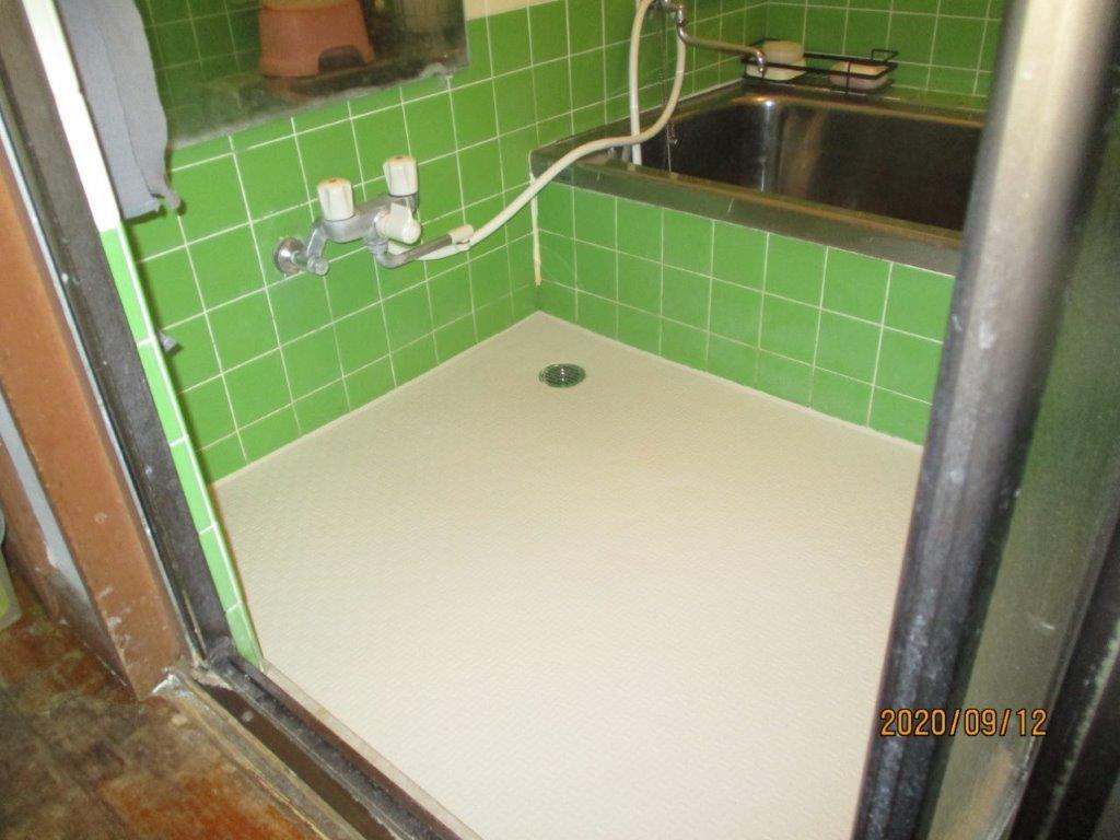 排水工事・洗い場のリフォーム後